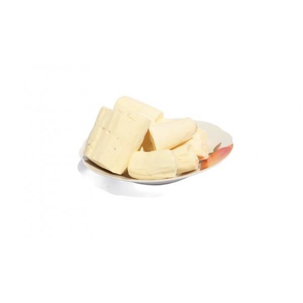 Peeled cassava (kg)